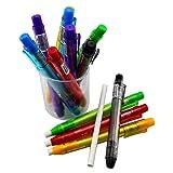Ipienlee Pencil Erasers Pen-Style Eraser Funny
