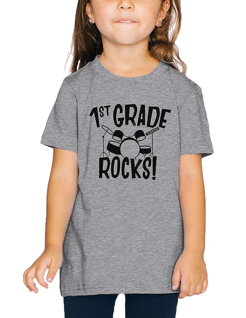 SpiritForged Apparel 1st Grade Rocks Back to School Toddler T-Shirt