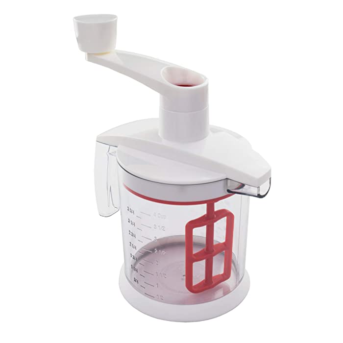 Tovolo Quick Mix Hand Beater Batter Blender, Mess-Free Pour, Non-Slip Base