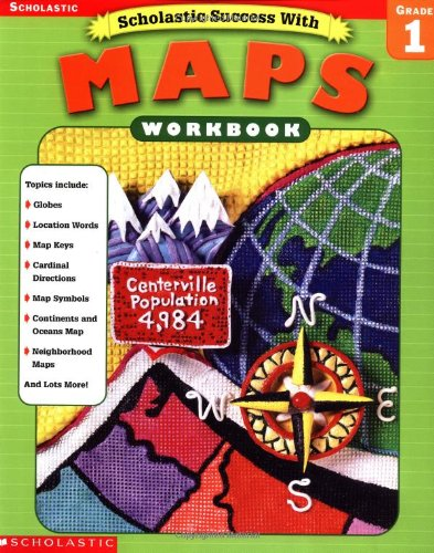 Amazon.com: Scholastic Success With: Maps Workbook: Grade 1 ... on templar maps, paradox interactive maps, amazon maps, preschool teaching curriculum maps, brain pop maps, visual listening maps, rand mcnally maps, harcourt brace maps, lonely planet maps, teaching preschoolers about maps, world atlas physical maps, enchanted learning maps, houghton mifflin maps, herff jones maps, northern woodlands maps, hubbard scientific maps, science maps, american bible society maps, knowledge quest maps, mcgraw hill maps,