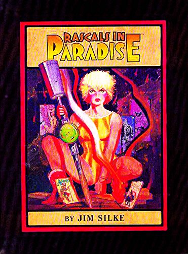 Rascals in Paradise Auto Limited Edition HC Jim Silke Signed Numbered Dark Horse #/1000