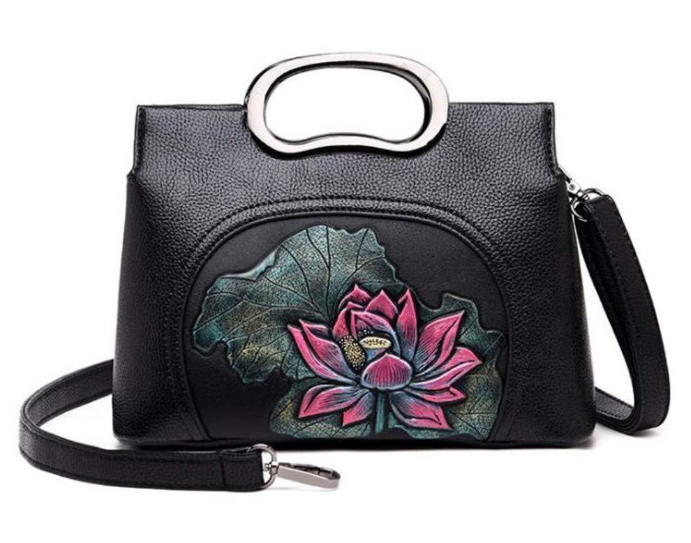 Handtaschen Handtaschen Handtaschen für Damen , Mode Umhängetasche Ethnic Style Umhängetasche, Schwarz B Tote Umhängetasche Damenhandtaschen Top-Griff Taschen Geschenke für Mädchen B07QPB85YL Schultertaschen Billiger als der Preis 704528