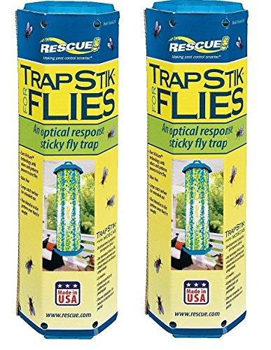 Lure Fly Sticky - RESCUE! Non-Toxic TrapStik for Flies (2)
