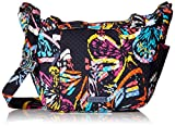 Vera Bradley Hadley On The Go Satchel, Signature Cotton, Butterfly Flutter