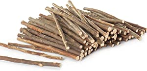 Niteangel Natural Willow Small Animal and Bird Chew Sticks, 10.5-oz