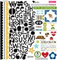 Bella Blvd Rover Treasures & Texts Dog Scrapbook Stickers
