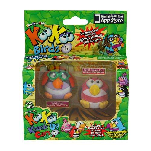 Плюшевая игрушка KooKoo Zoo Flocked Birds