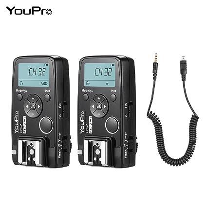 Amazon com : YouPro Pro-7 Wireless Shutter Timer Remote +