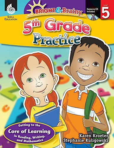 Bright & Brainy: 5th Grade Practice by Stephanie Kuligowski;Karen Kroeter (2012-06-01)