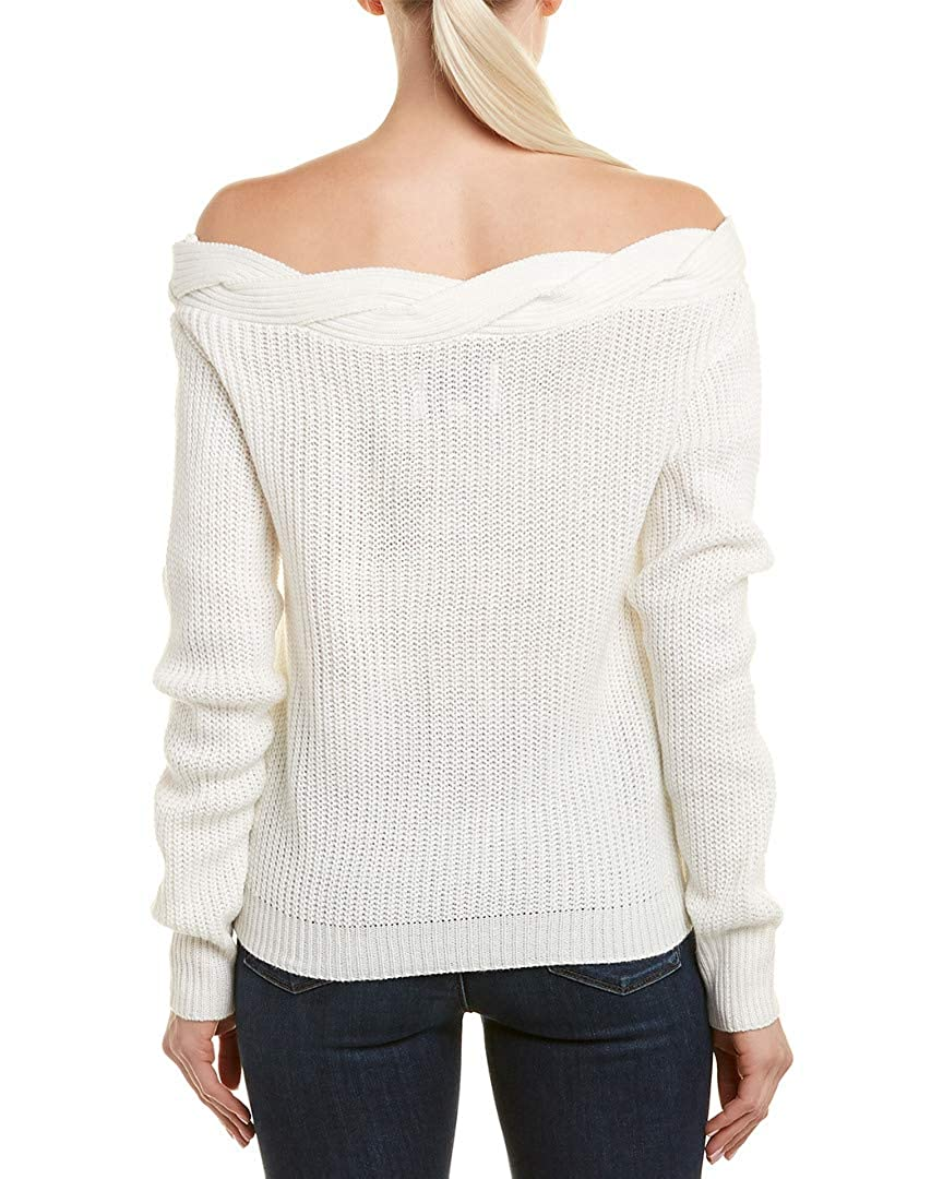 367deabb21 J.O.A. Womens Off-The-Shoulder Sweater
