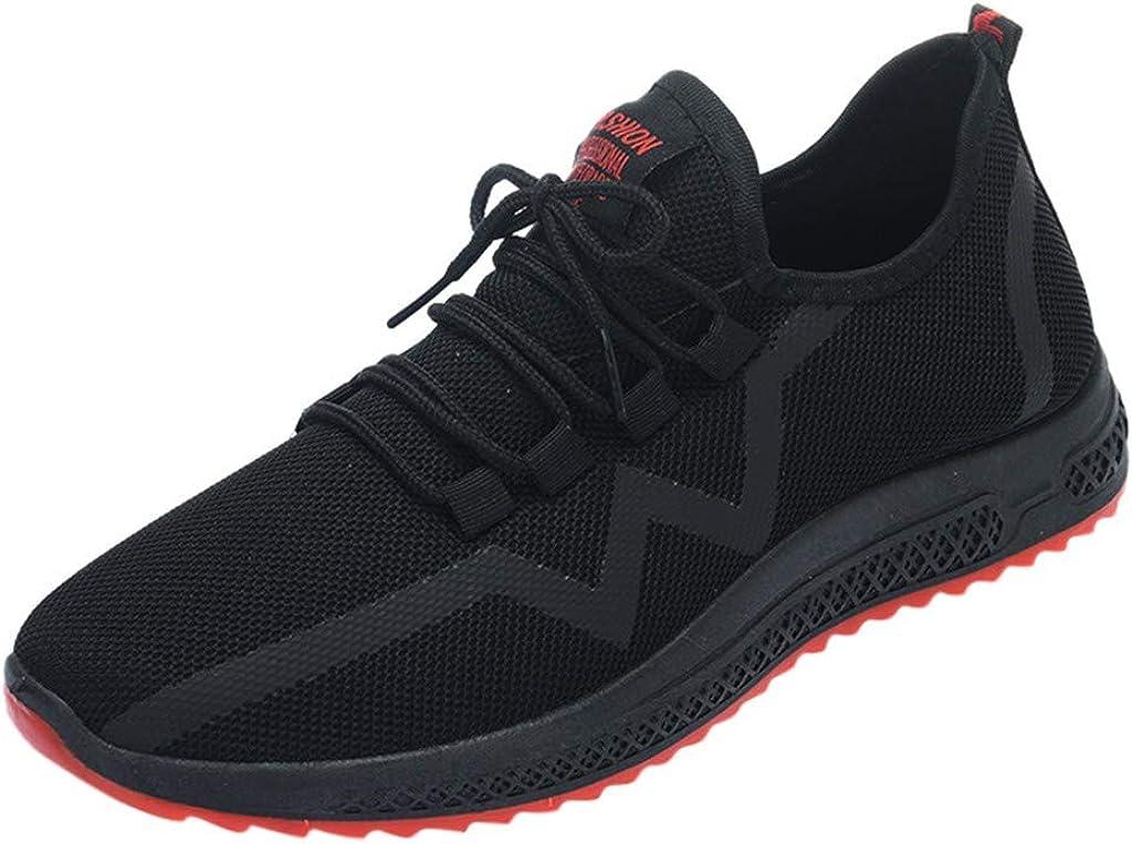 Alaso - Zapatillas de running con cordones para hombre ...