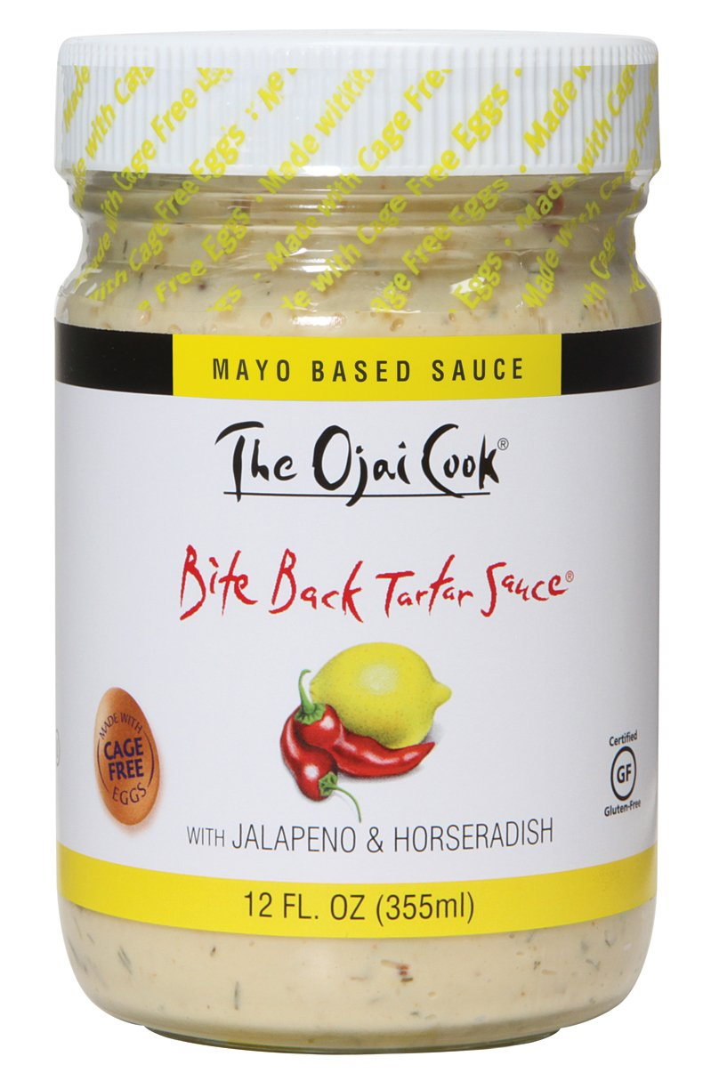 The Ojai Cook Tartar Sauce, Bite Back, 12 Ounce (Pack of 6)
