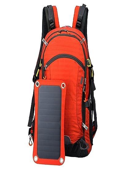 Ubei 10w placas solares, la mochila solar Con la bolsa de agua 2L Para Alpinismo