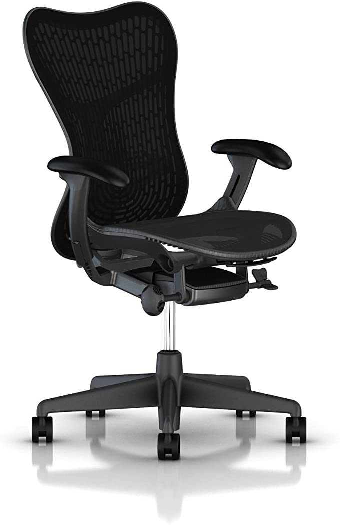 Amazon.com: Herman Miller Mirra 2 Chair - Tilt Limiter and Seat Angle, Butterfly Back: Furniture & Decor