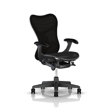 huge discount f6d45 1dca3 Herman Miller Mirra 2 Chair - Tilt Limiter and Seat Angle, Butterfly Back ,  Graphite - MRF123AWAFAJG1BBG18M17BK1A703