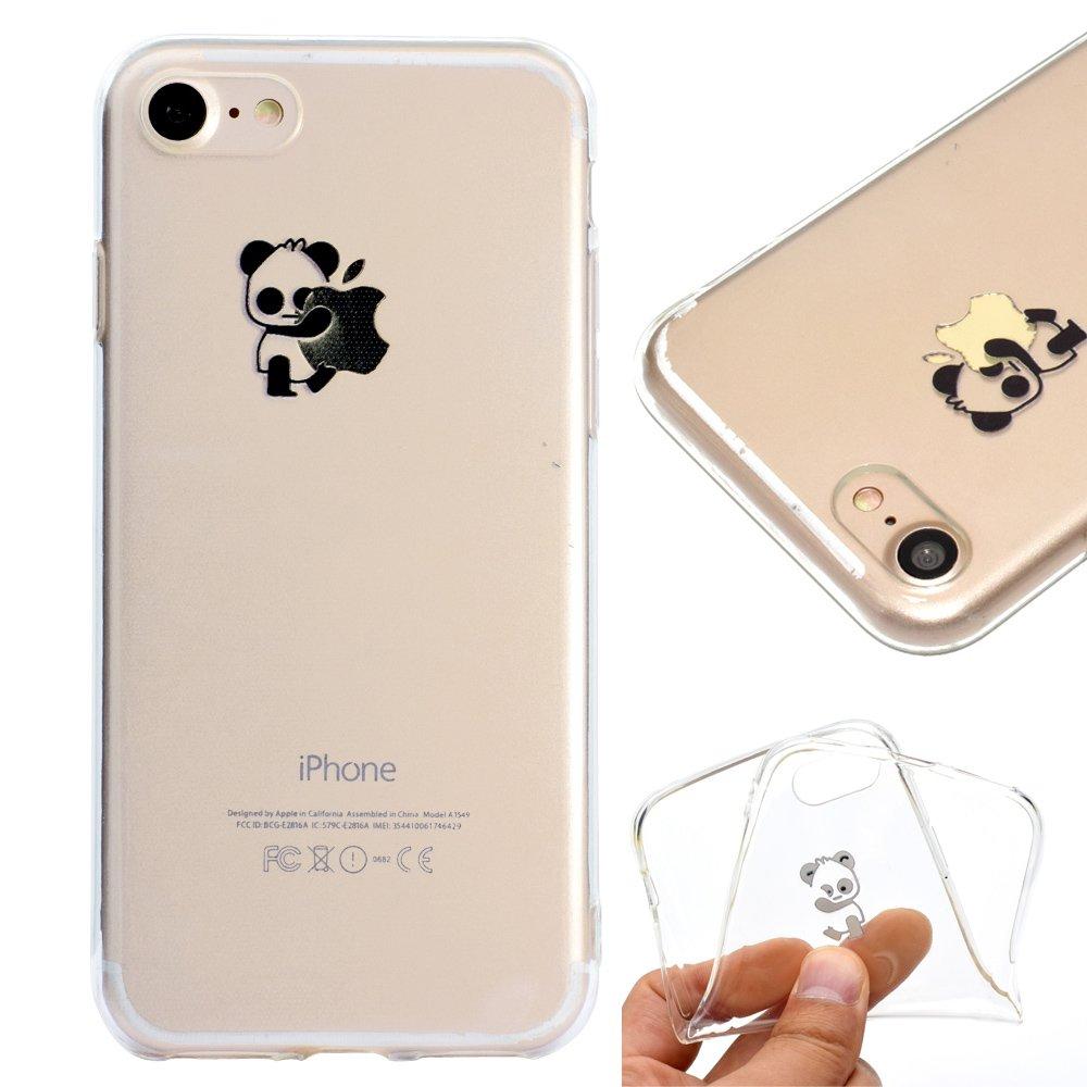 Leeook - Carcasa, espejo, silicona, TPU para iPhone 6S Plus y Plus 5.5, incluye lápiz táctil de colo...
