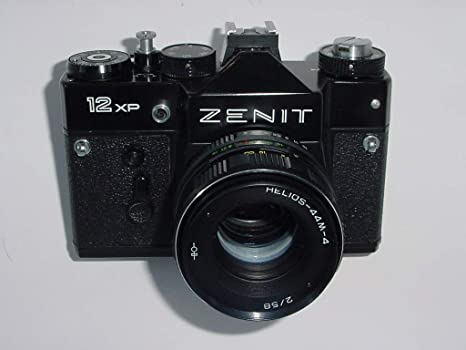 Zenit 12xp Camara SLR 35mm Camera Pentax m42 mount Cased XLNT ...