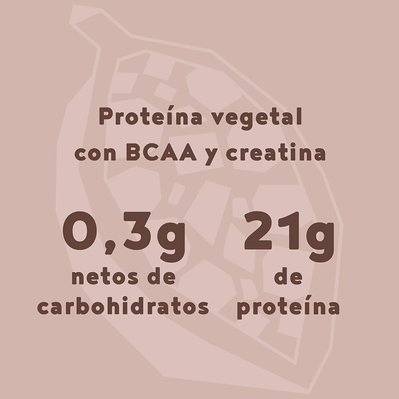 Vegan Muscle Protein   Chocolate   Proteína vegana de ...
