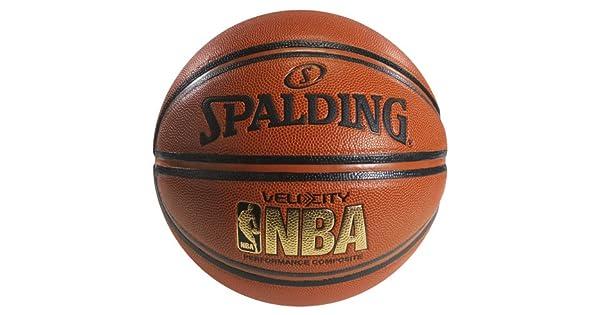 Amazon.com: Spalding NBA Velocity Balón de baloncesto ...