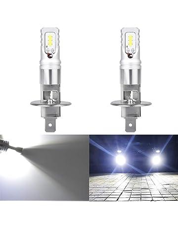 KaTur Extremadamente Brillante Top Avanzado CSP LED Chips Car H1 Horas diurnas DRL Bombillas o Luces