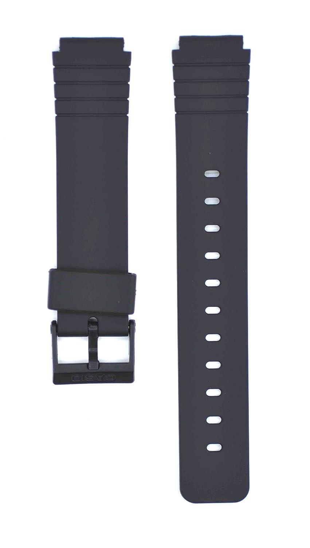 16 mmブラックゴム時計ストラップfor mq-76 Watches cas129  B0792WW377