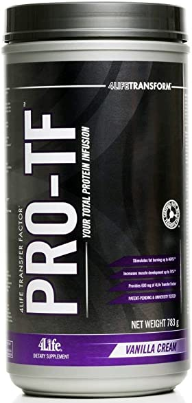 4life Transfer Factor Pro-tf Protein Vanilla Cream 783g