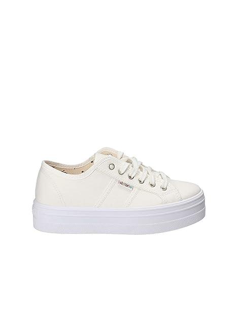 Victoria 09200 Zapatillas Victoria Mujer Zapatillas Blanco 36: Amazon.es: Zapatos y complementos