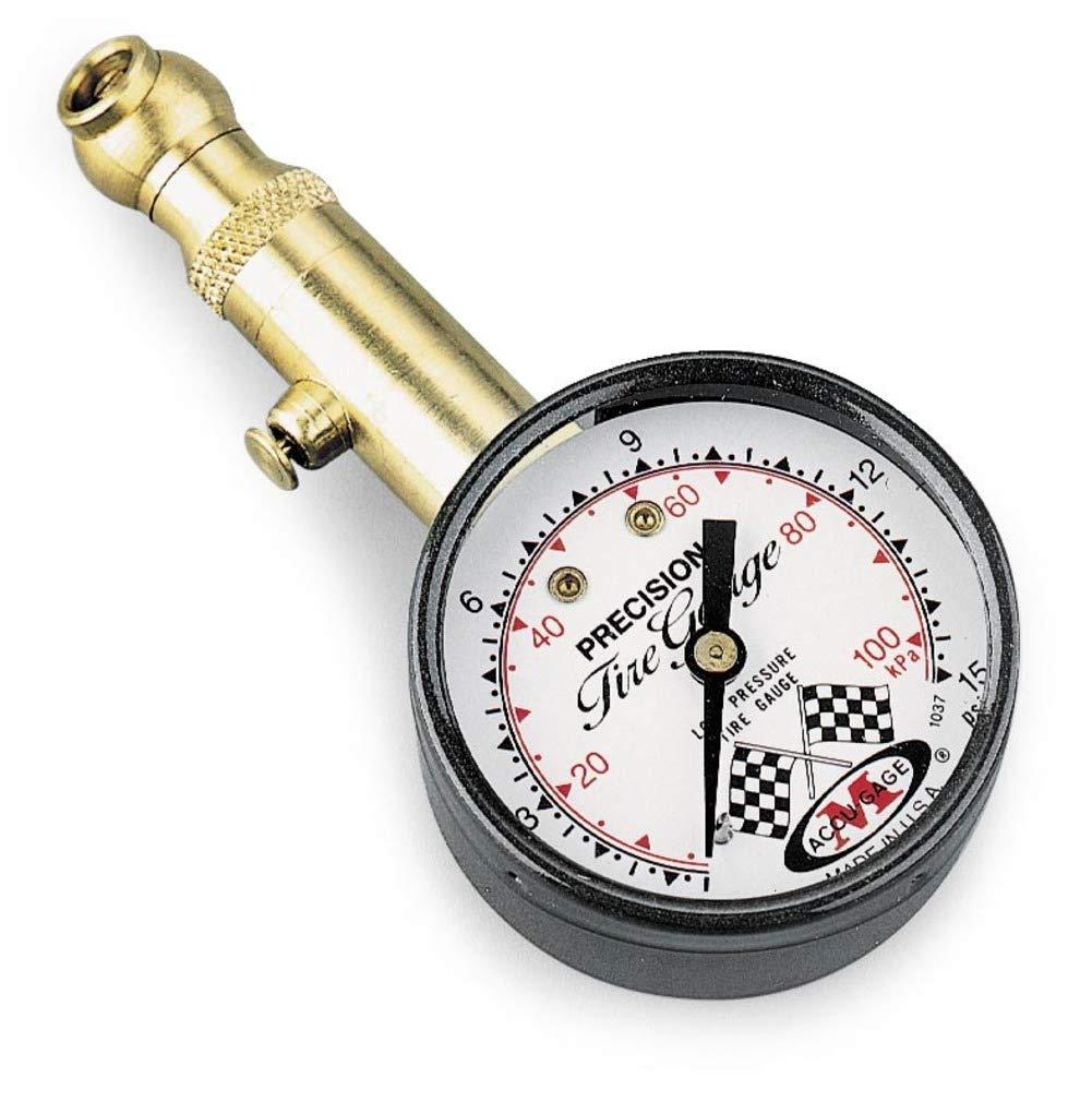Accugage Air Pressure Tire Gauge - 1-15 PSI (MISC)