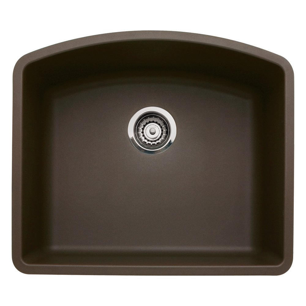 Blanco BL440172 Diamond Single Bowl, Cafe Brown