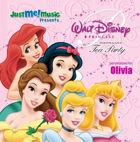 Personalized Princess Cd - Disney Princess Tea Party: Olivia