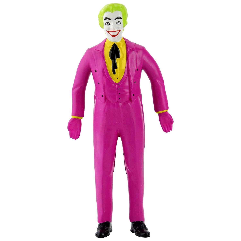 NJ Croce Batman Classic TV Series The Joker Bendable Figure