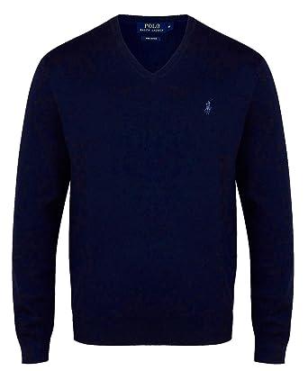 838b4fd2bab Ralph Lauren - Pull - Sweatshirts - Manches Longues - Homme Bleu Bleu M -  Bleu