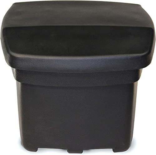 FCMP Outdoor SB140-BLK Outdoor Storage Bin, Black