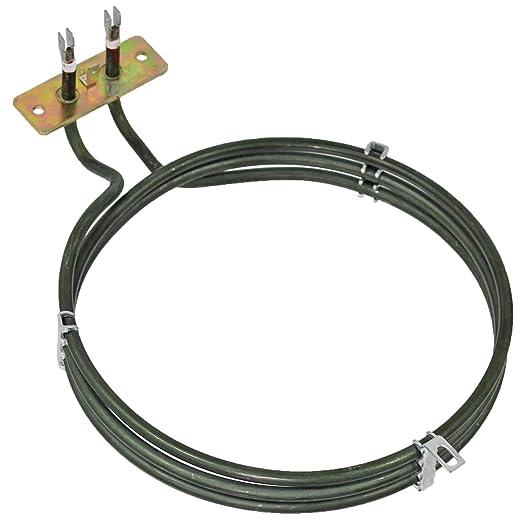 Spares2go elemento calefactor eléctrico para Rosieres Ventilador ...