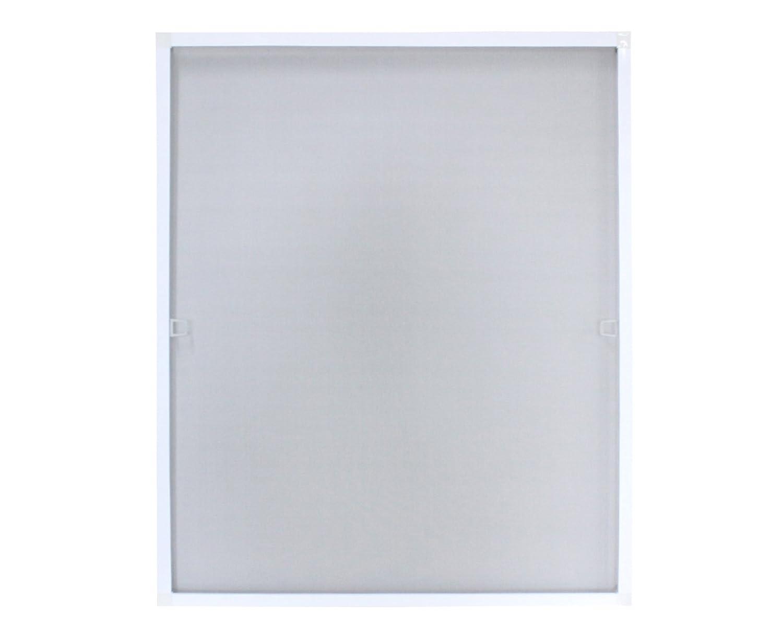 Fliegengitter mit Alu-Rahmen 130 x 150 cm / 5er Pack Weiß
