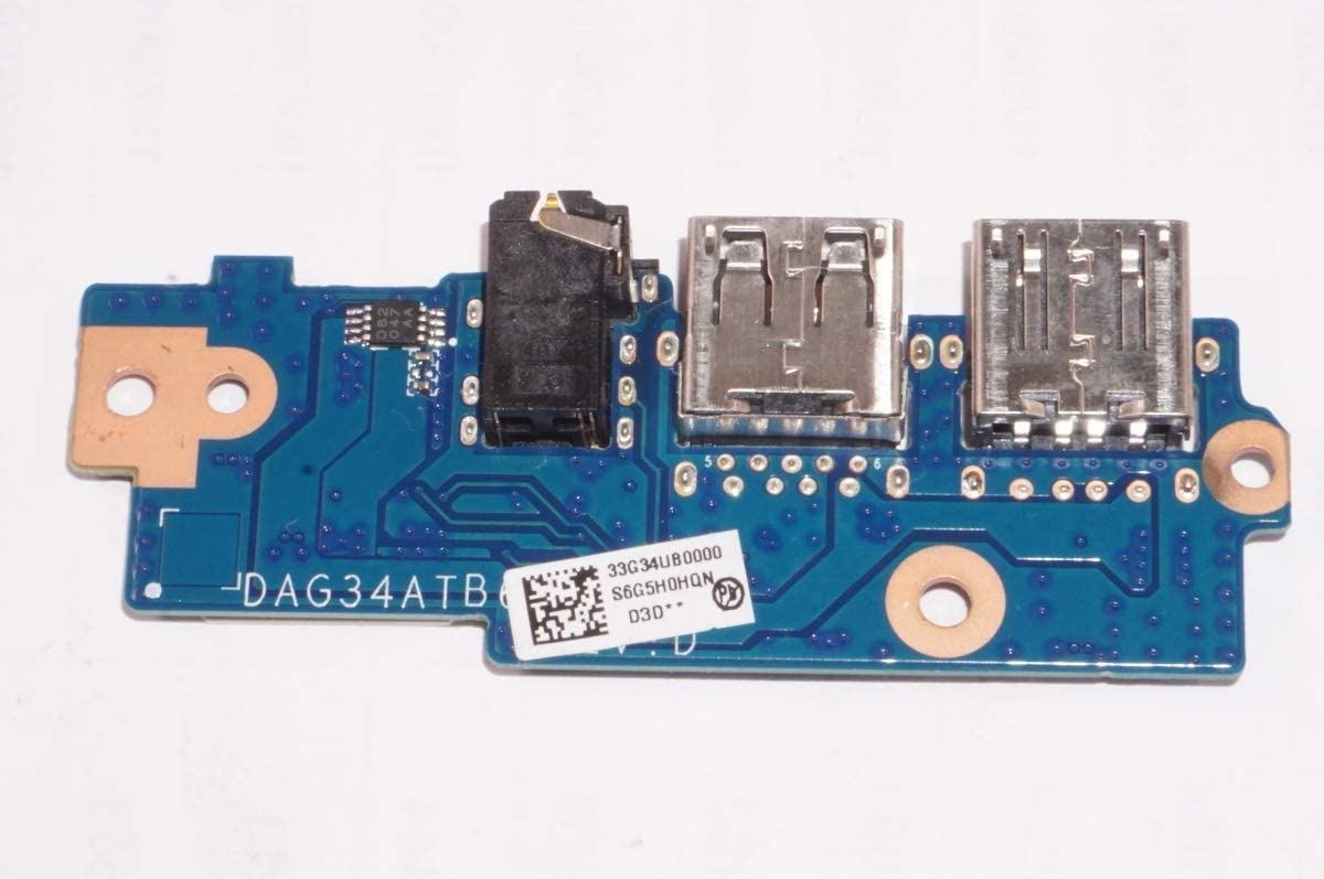 FMB-I Compatible with DAG3BBTBCF0 Replacement for Hp USB Board 17T-AN000