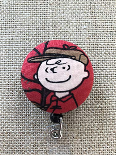 Peanuts Characters Retractable ID Badge Holder - Badge Reel Clip - Your Choice