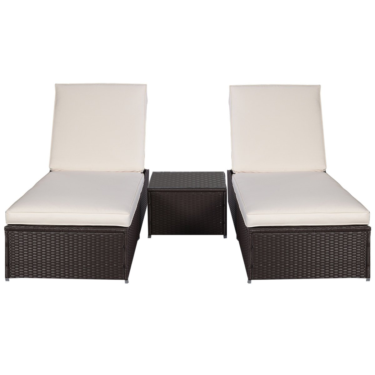 gartenliege 2 personen rattan. Black Bedroom Furniture Sets. Home Design Ideas