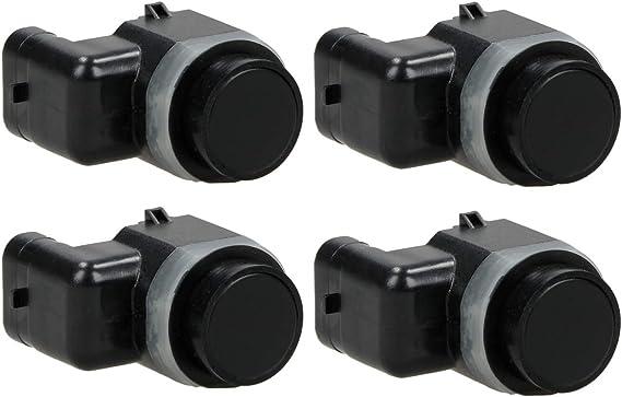 Ecd Germany 4 X Pdc 20 72 0038 Parksensor Pdc Sensor Einparkhilfe Parktronic Ultraschallsensor Grundiert Hinten Vorne Auto