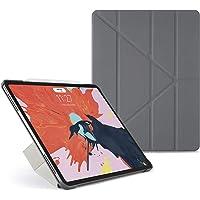 PIPETTO iPad Pro 12.9 Case Origami (3rd Gen) - Grey