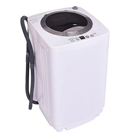 Charming Giantex Portable Compact Full Automatic Laundry 1.6 Cu. Ft. Washing Machine  Washer/