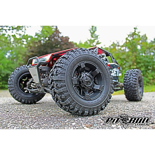 Pit Bull RC Rock Beast XL 3.8 Scale with Zuper Duper Komp with Foam (Rc Pit Bull Tires)