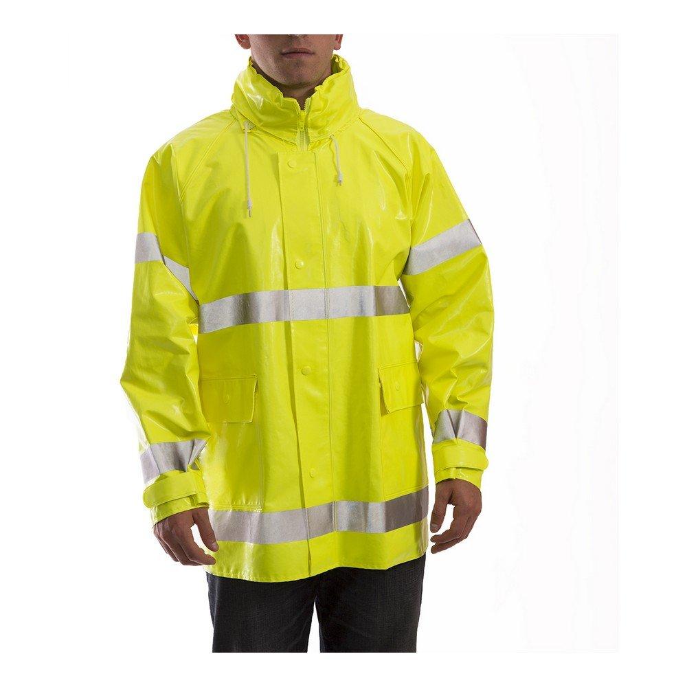 Comfort Brite 14 Mil Hi-Viz Rain Jacket
