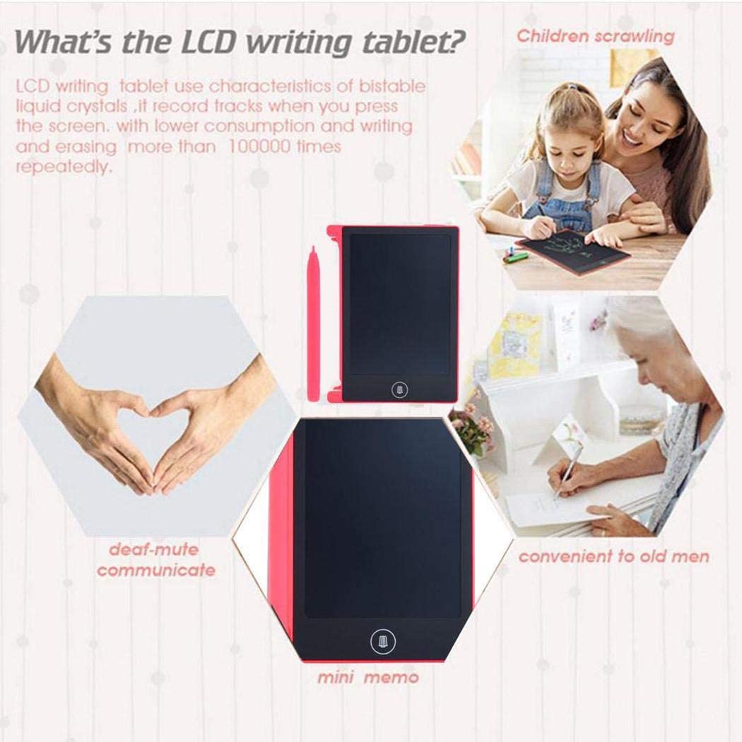 Acquaintant Portable Practical Reusable LCD Writing Drawing Tablet Board Tablets