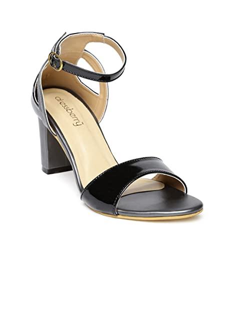 c7e655337f9 DressBerry Women Black Heels (6)  Buy Online at Low Prices in India ...