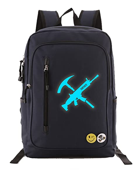 Aoliait Unisex School Mochila Fortnite Game Printed Mochila 15 pulgadas Laptop Book Satchel Bolsa de senderismo