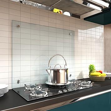 Fliesenspiegel Küche Glas melko glas küchenrückwand spritzschutz herdblende 6 mm esg