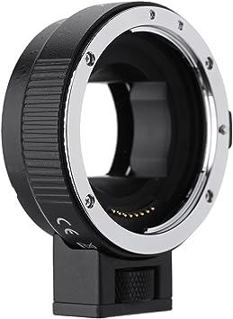 Andoer Anillo de Montaje del Adaptador para Nikon Lens para Sony E NEX Monte NEX3 NEX5 C/ámara