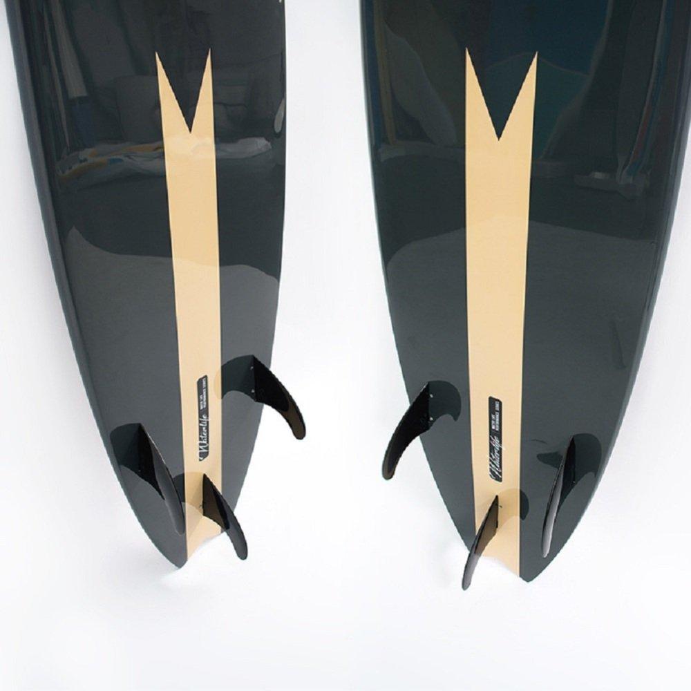 VIO Adult Children Tablas de Surf Profesionales para Principiantes Esquís Standboard Hardboard,Negro,Un tamaño: Amazon.es: Deportes y aire libre