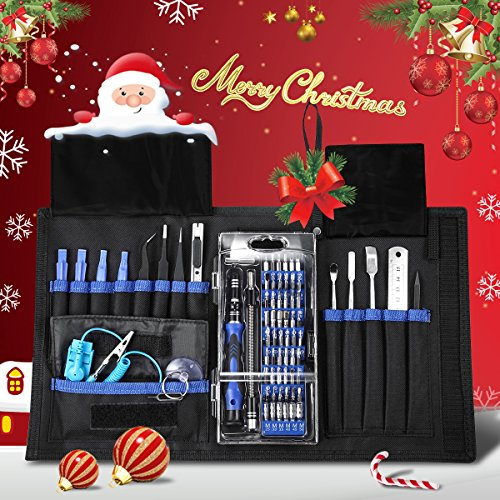 ORIA Precision Screwdriver Kit, 76 in 1 with 56 Bits Repair Tool Kit for Cellphone, Game Console, Ta - http://coolthings.us